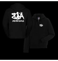 BoA Zipped Hoodie Logo