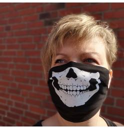 Mund- u. Nasenmaske, Skull