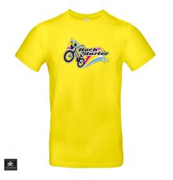Hochstarter T-Shirt Logo Gelb